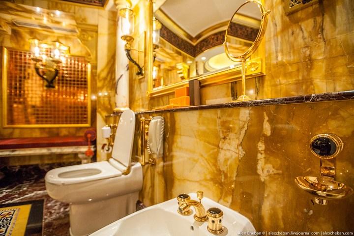 Самый дорогой гостиничный номер в семизвездочном отеле Burj Al Arab (16)