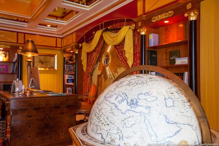 Самый дорогой гостиничный номер в семизвездочном отеле Burj Al Arab (5)
