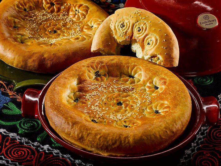 Как испечь узбекскую лепешку в обычной духовке? (1)