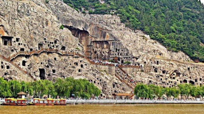 Лунмэнь – каменные пещеры у Драконовых ворот (3)
