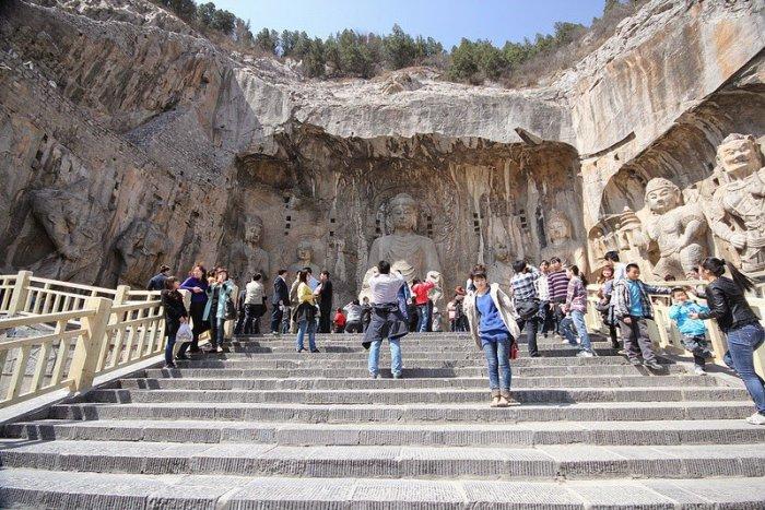 Лунмэнь – каменные пещеры у Драконовых ворот (4)