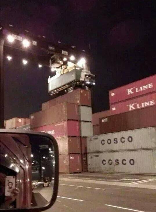 Курьезный случай с контейнеровозом (2)