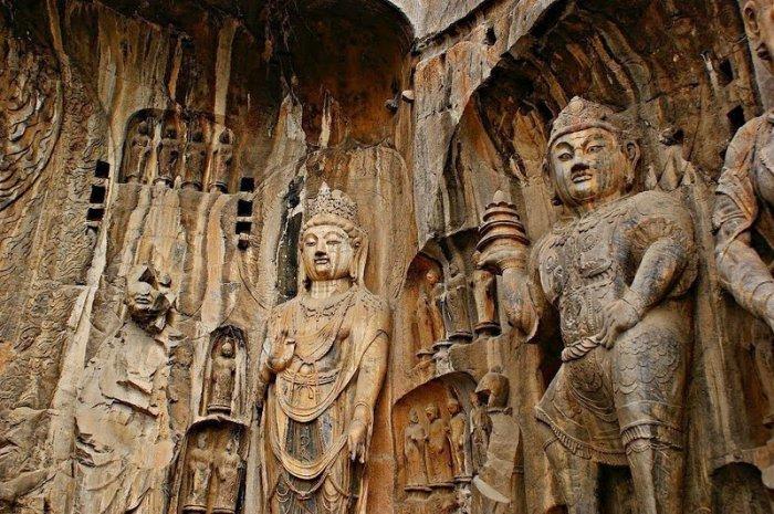 Лунмэнь – каменные пещеры у Драконовых ворот (8)
