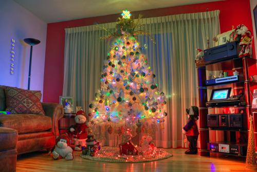 Украшение квартиры к новогодним праздникам (2)