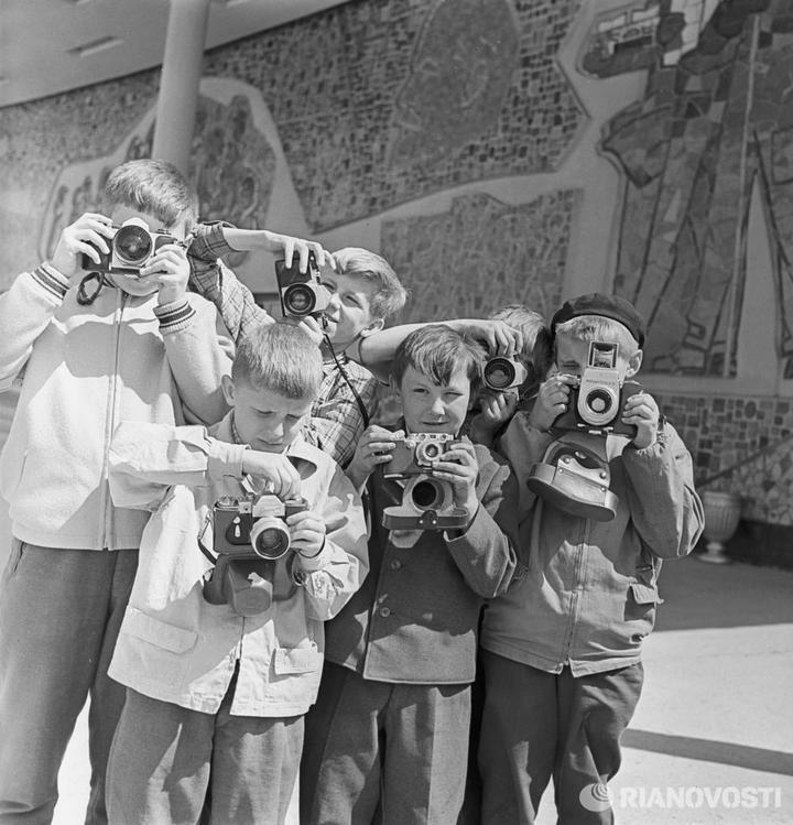 Лица советской эпохи. Дети... (17)
