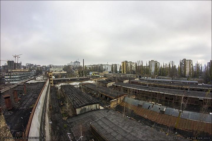Заброшенный Киевский завод Электротранспорта (17)
