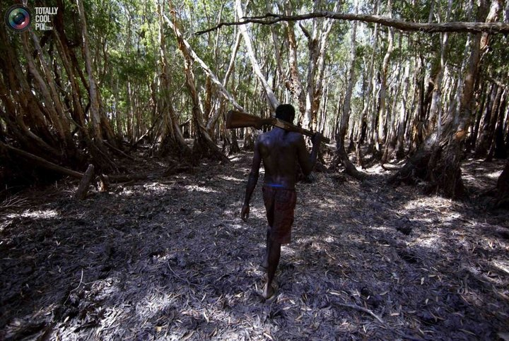 Как живут австралийские аборигены