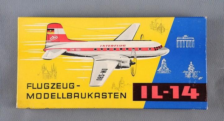 ГэДээРовские сборные модели самолётов (2)