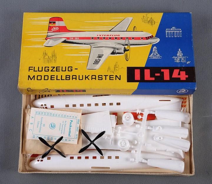 ГэДээРовские сборные модели самолётов (3)