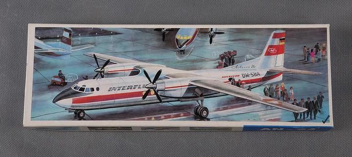 ГэДээРовские сборные модели самолётов (8)