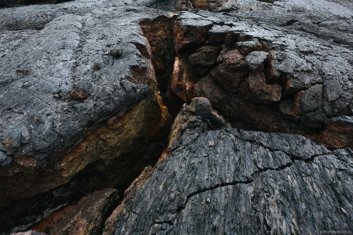 Лавовый поток вулкана Толбачик, гора Камень и Ключевская сопка (8)