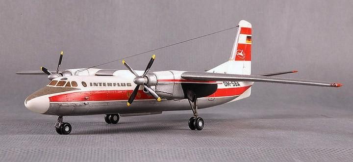 ГэДээРовские сборные модели самолётов (11)