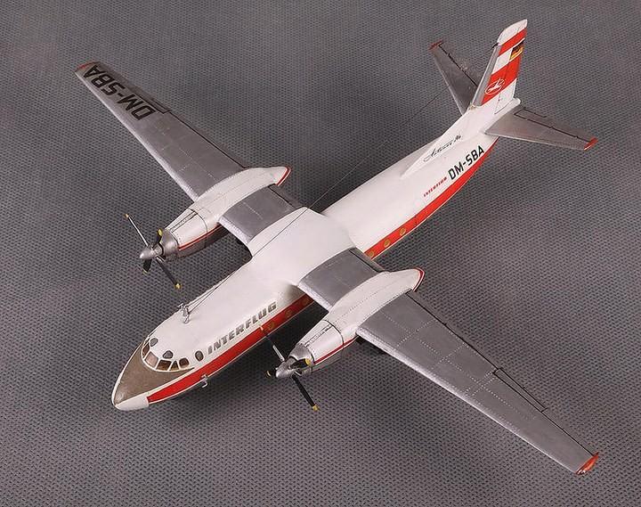 ГэДээРовские сборные модели самолётов (12)