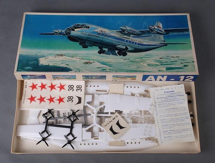 ГэДээРовские сборные модели самолётов (15)