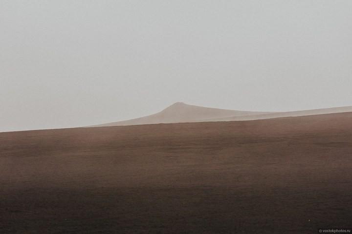 Лавовый поток вулкана Толбачик, гора Камень и Ключевская сопка (23)