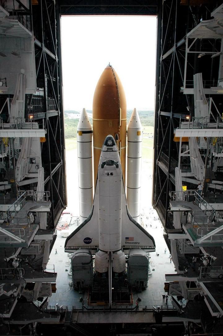 Самое большое одноэтажное здание в мире NASA Vehicle Assembly Building (26)