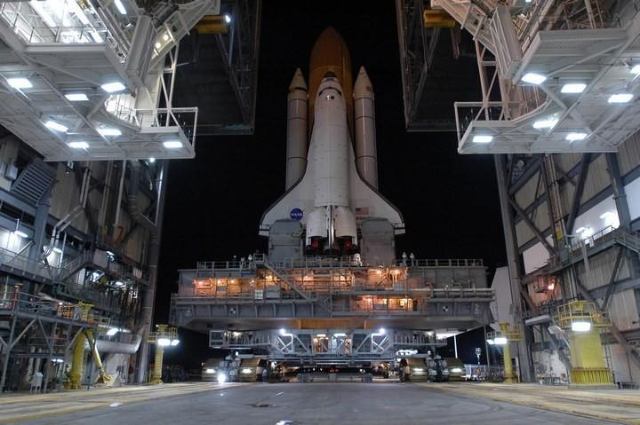 Самое большое одноэтажное здание в мире NASA Vehicle Assembly Building (27)