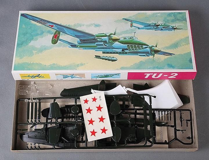ГэДээРовские сборные модели самолётов (27)