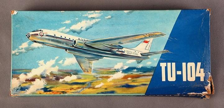 ГэДээРовские сборные модели самолётов (29)