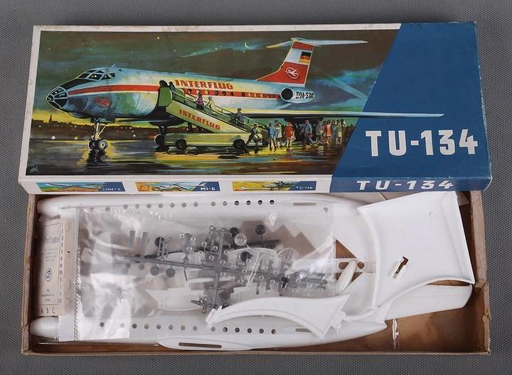 ГэДээРовские сборные модели самолётов (32)