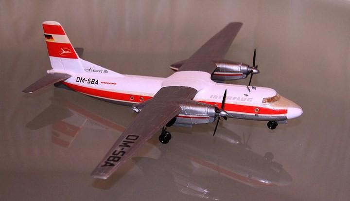 ГэДээРовские сборные модели самолётов (39)