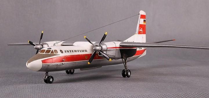 ГэДээРовские сборные модели самолётов (40)