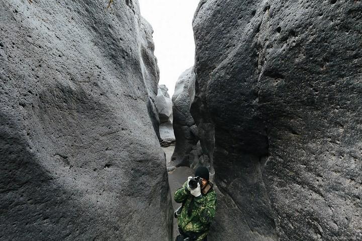 Лавовый поток вулкана Толбачик, гора Камень и Ключевская сопка (62)