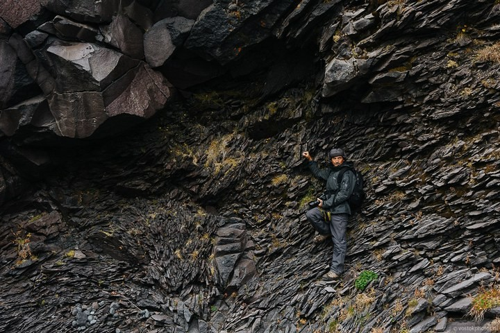 Лавовый поток вулкана Толбачик, гора Камень и Ключевская сопка (63)