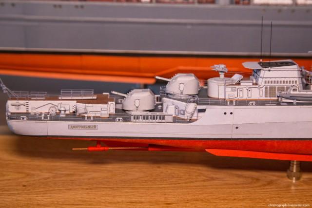 Потрясающие модели из бумаги от Алексея Рыжова (14)
