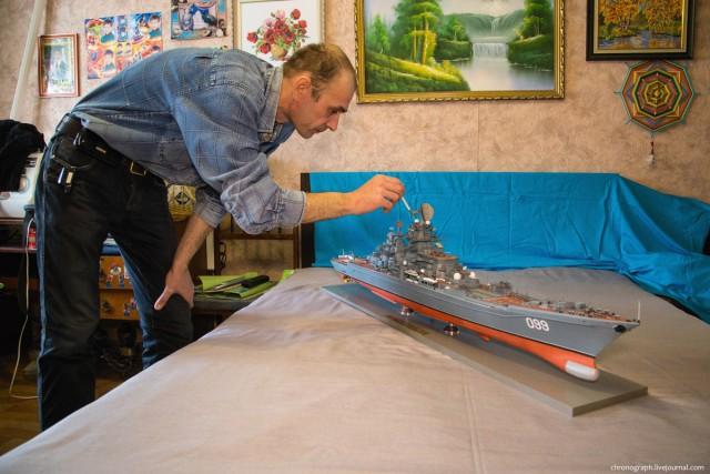 Потрясающие модели из бумаги от Алексея Рыжова (3)