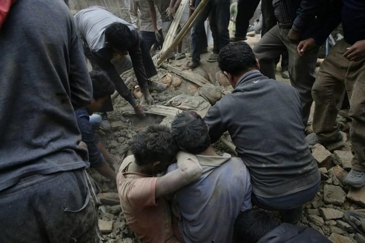 Землетрясение в Непале (2)