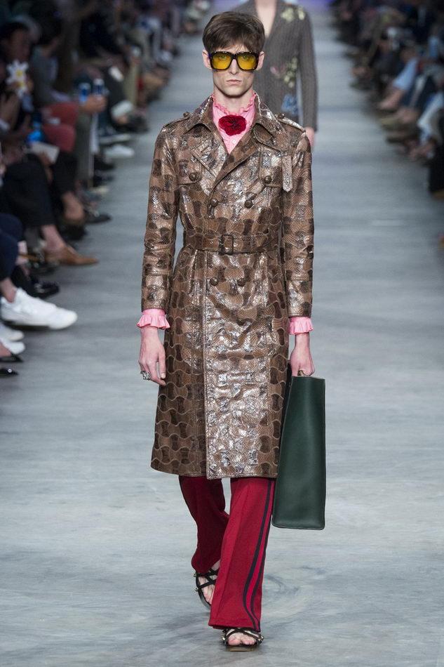 Мужская коллекция весна-лето 2016 от Gucci, гм (11)