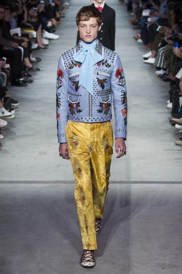 Мужская коллекция весна-лето 2016 от Gucci, гм (7)