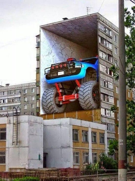 Вот таким должно быть граффити