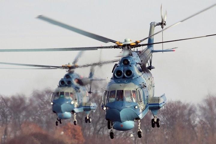 Вертолет-амфибия Ми-14 (13)