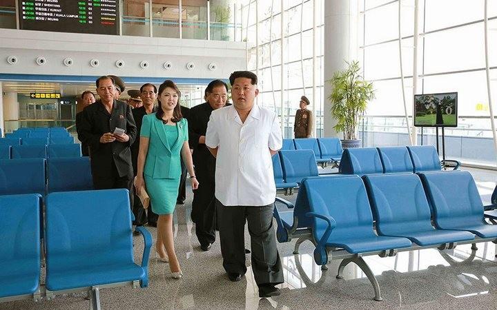 Ким Чен Ын на открытии нового терминала в аэропорту в Пхеньяне (1)