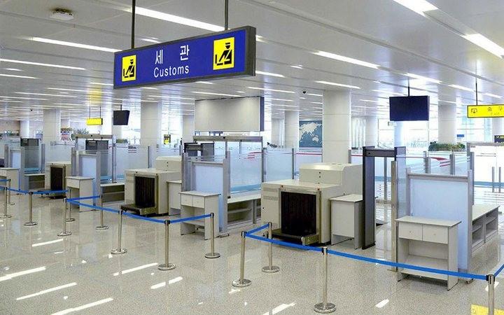 Ким Чен Ын на открытии нового терминала в аэропорту в Пхеньяне (5)