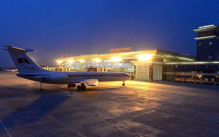 Ким Чен Ын на открытии нового терминала в аэропорту в Пхеньяне (12)