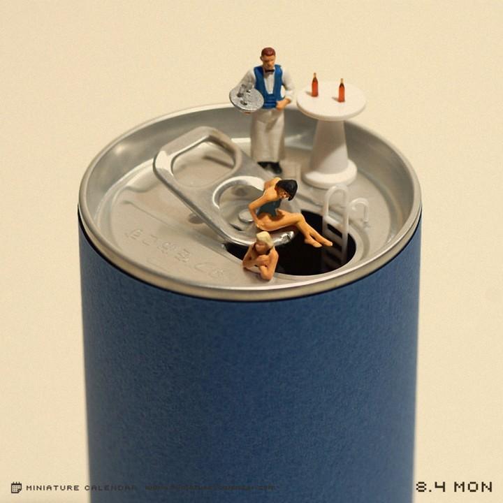 Креативные миниатюры от японца Танака Тацуя (5)