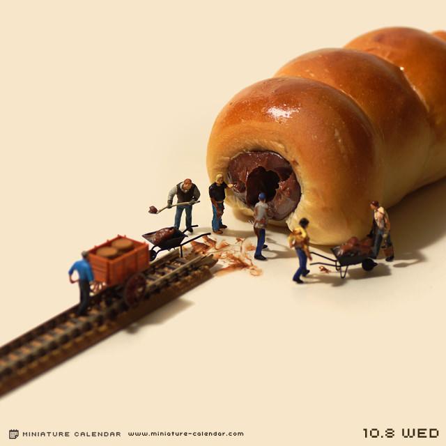 Креативные миниатюры от японца Танака Тацуя (11)
