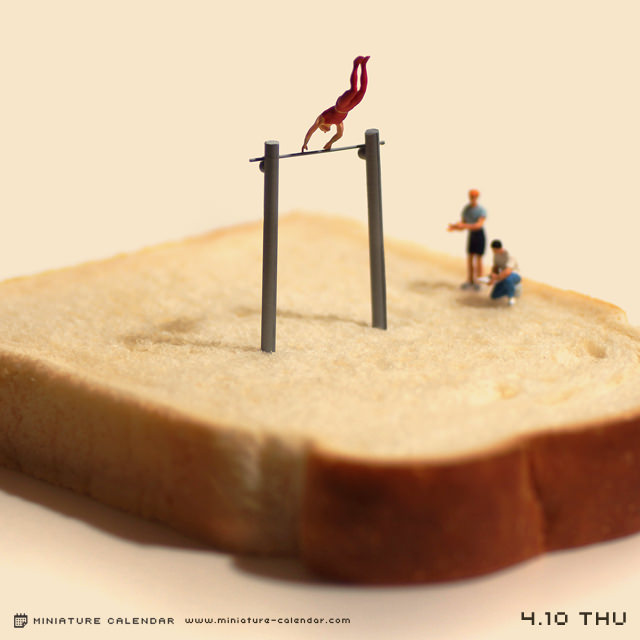 Креативные миниатюры от японца Танака Тацуя (8)