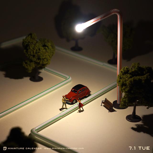 Креативные миниатюры от японца Танака Тацуя (10)