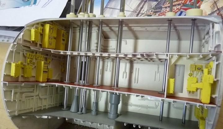 """Модель атомной подводной лодки 667-А """"Навага"""" в масштабе 1:50 (10)"""