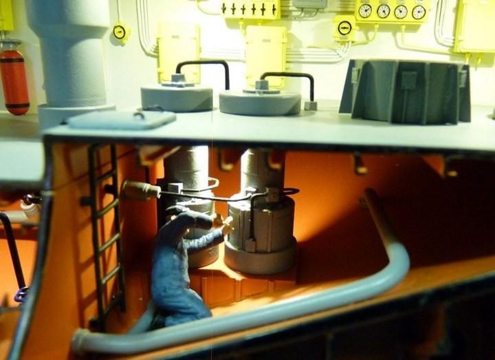 """Модель атомной подводной лодки 667-А """"Навага"""" в масштабе 1:50 (21)"""
