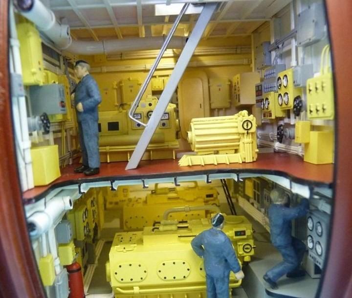 """Модель атомной подводной лодки 667-А """"Навага"""" в масштабе 1:50 (32)"""
