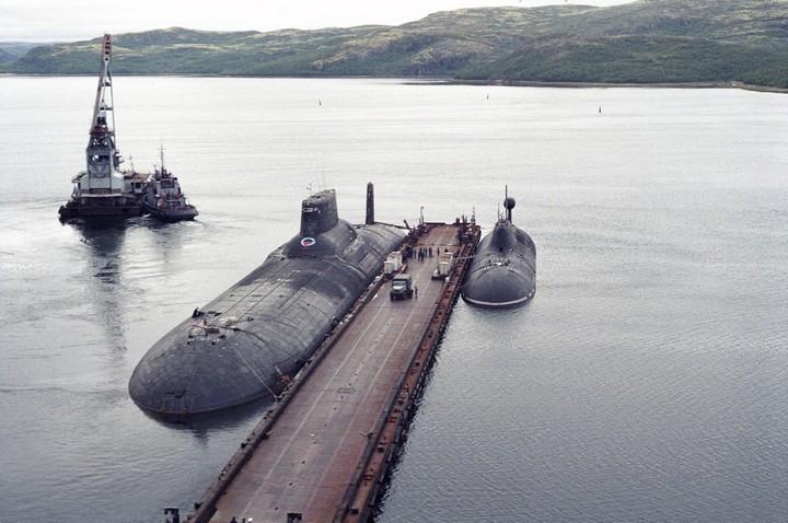 «Акула» — cамая большая подводная лодка в мире (11)