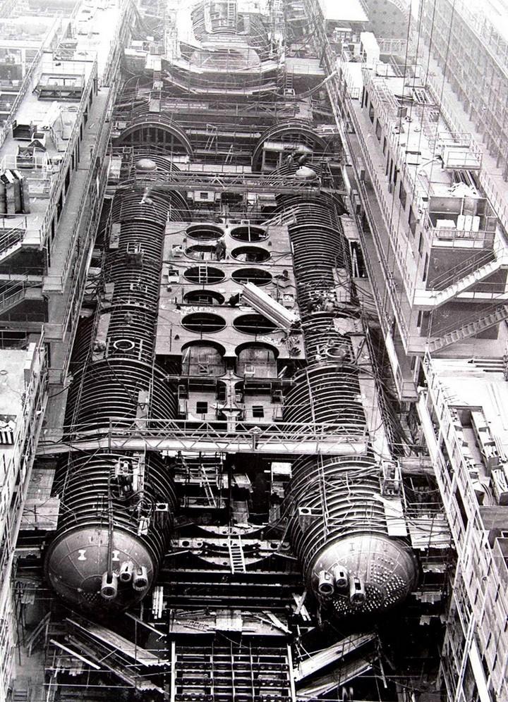 «Акула» — cамая большая подводная лодка в мире (2)