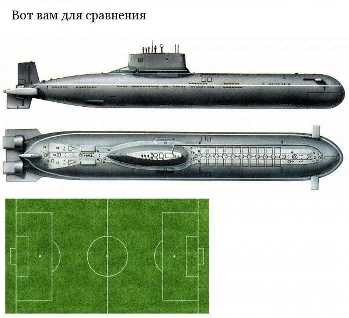 «Акула» — cамая большая подводная лодка в мире (16)
