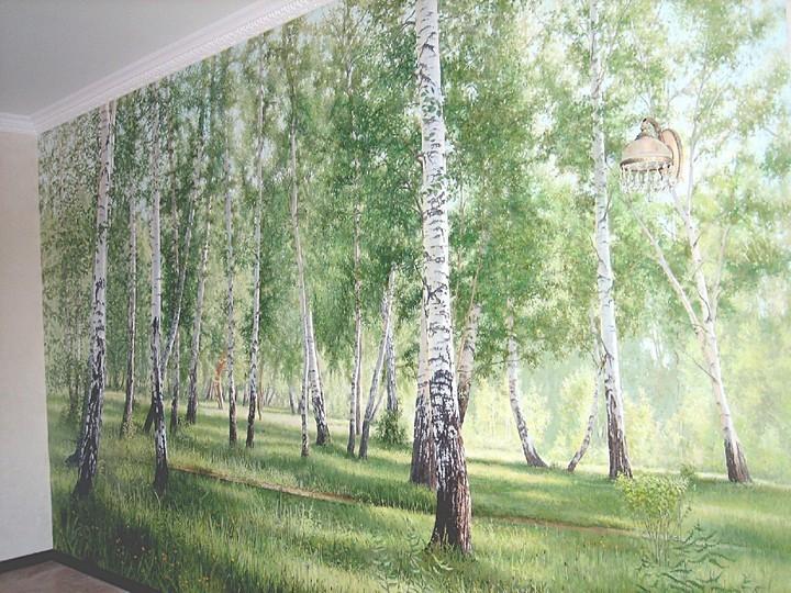 Художественная живопись в интерьер – это всегда красиво и модно! (3)
