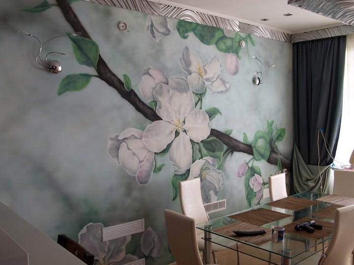 Художественная живопись в интерьер – это всегда красиво и модно! (1)
